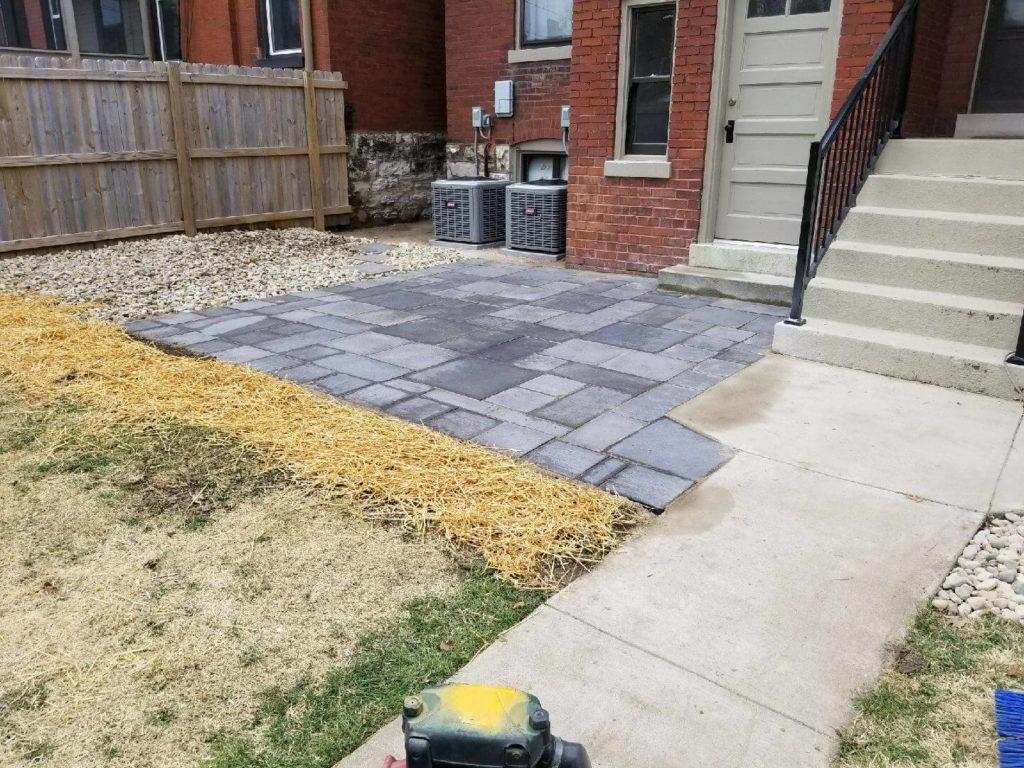 Paver Patio After Picture